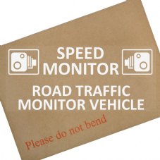 Speed Monitor, Road Traffic Monitor Vehicle-WC-Safety,Notice,Warning,Car,Van,Truck,Transit,Taxi,Cab